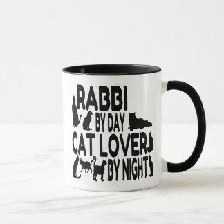 Caneca Rabino do amante do gato
