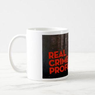 Caneca real do perfil do crime