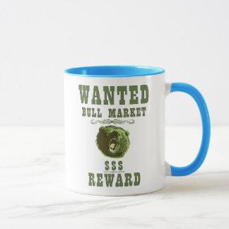 Caneca Recompensa do mercado em alta