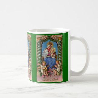 Caneca religiosa de Jesus | da Virgem Maria e do