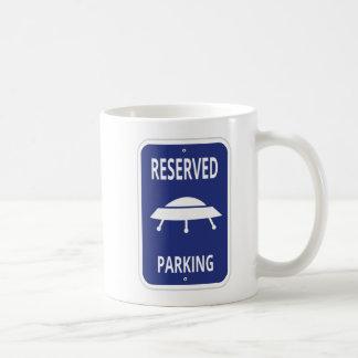 Caneca reservado do estacionamento