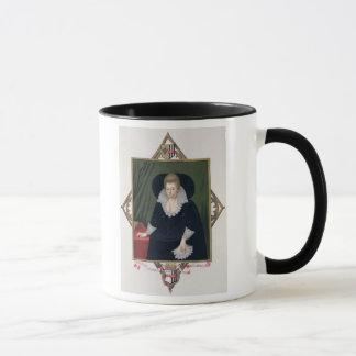 Caneca Retrato de Frances Walsingham, condessa de Essex