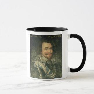 Caneca Retrato de George Villiers, ø duque de Buckingha