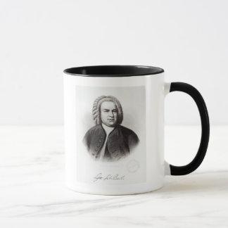 Caneca Retrato de Johann Sebastian Bach