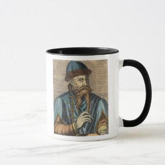 Caneca Retrato de Johannes Gutenberg 2