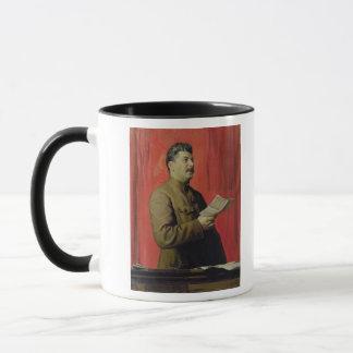 Caneca Retrato de Josif Stalin, 1933