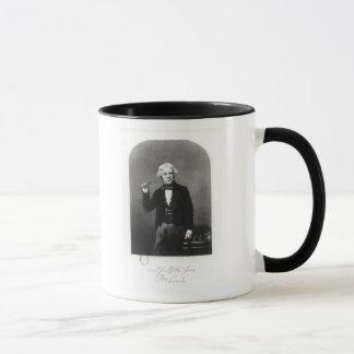 Caneca Retrato de Michael Faraday