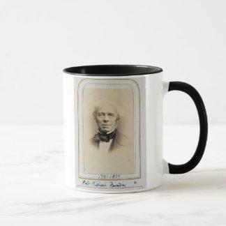Caneca Retrato de Michael Faraday (1791-1867) (albume p