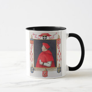 Caneca Retrato do cardeal a de Thomas Wolsey