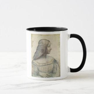 Caneca Retrato do d'Este de Isabella