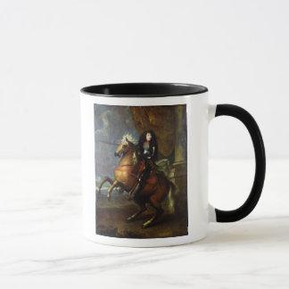 Caneca Retrato equestre de Louis XIV c.1668