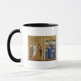 Caneca Richard II apresentado ao Virgin e à criança