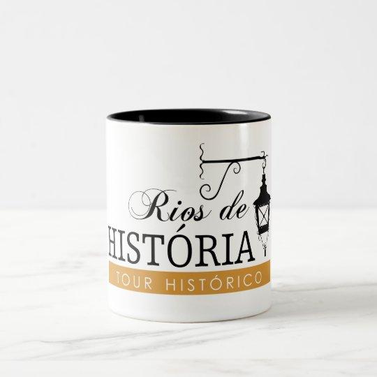 Caneca Rios de História