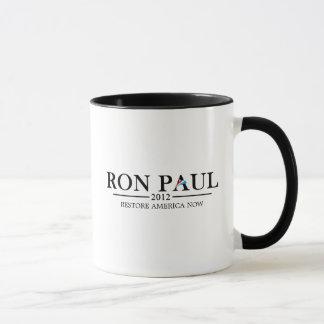 Caneca Ron Paul 2012 (preto)