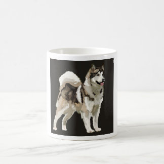 Caneca ronca, desenho do cão do fundo de Darm