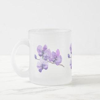Caneca roxa das orquídeas
