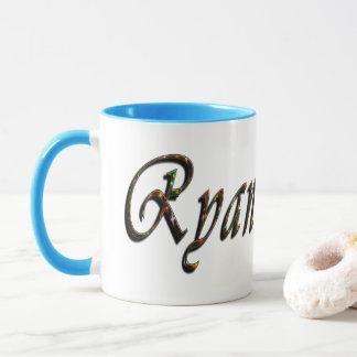 Caneca Ryan, logotipo, nome,