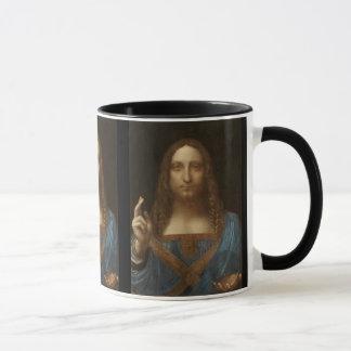 Caneca Salvator Mundi por Leonardo da Vinci