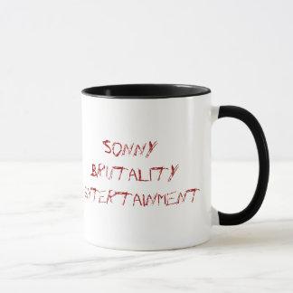 Caneca sangrenta da brutalidade de Sonny