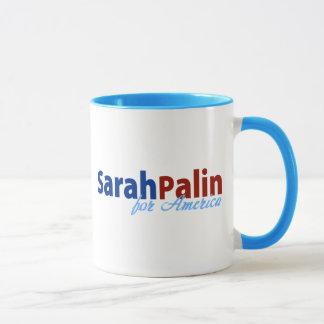 Caneca Sarah Palin para América