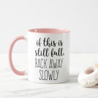 Caneca Se este é café ainda completo engraçado cite a