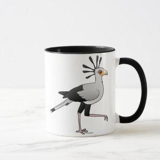 Caneca Secretário pássaro