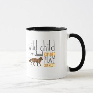 Caneca selvagem do Fox da criança