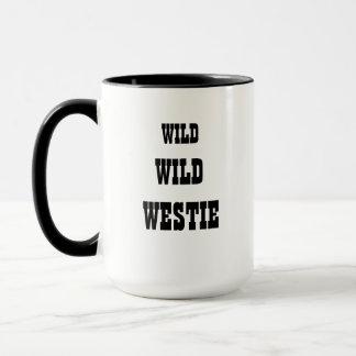 Caneca selvagem selvagem de Westie