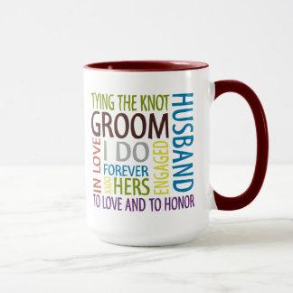 Caneca Sentimentos do noivo que Wedding
