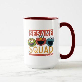 Caneca Sesame Street - pelotão do sésamo
