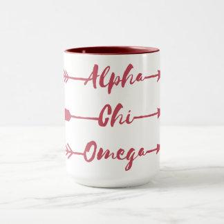 Caneca Setas alfa de Omega | do qui