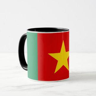 Caneca Símbolo da bandeira de país de República dos