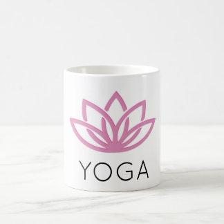 Caneca simples de Lotus da ioga