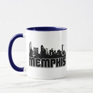 Caneca Skyline de Memphis
