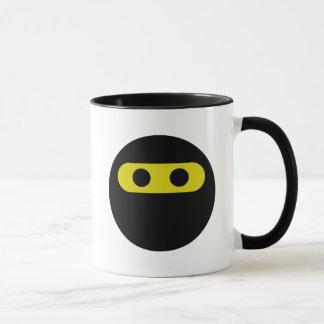 Caneca Smiley de Ninja