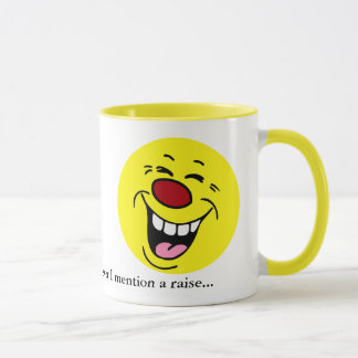 Caneca Smiley face de riso Grumpey