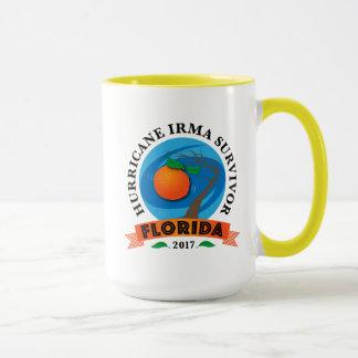 Caneca Sobrevivente de Irma do furacão de Florida