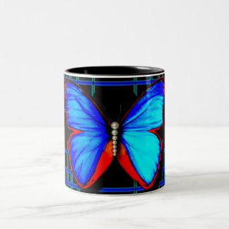 Caneca social da borboleta