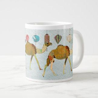 Caneca sonhadora dos camelos jumbo mug
