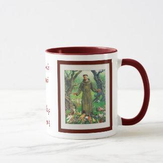 Caneca St Francis de Assisi