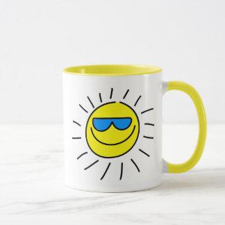 Caneca Sun feliz