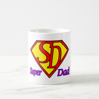 Caneca super do logotipo do pai