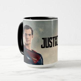 Caneca Superman da liga de justiça | no campo de batalha