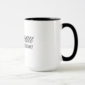 Caneca Taça, copo, dito