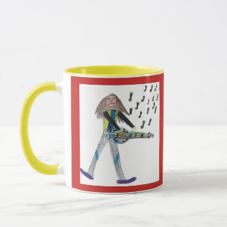 Caneca Taça -   j to love play the guitar