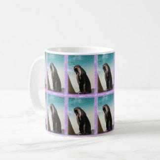 Caneca telhada do pinguim