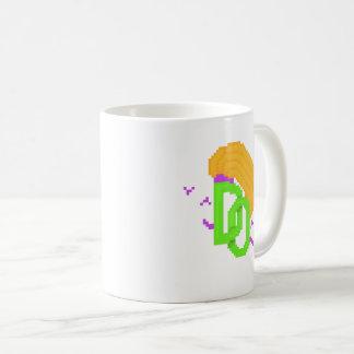 Caneca temida do chá do logotipo das opiniões