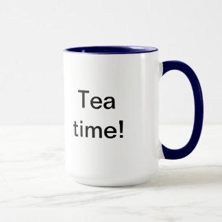 Caneca Tempo do chá!