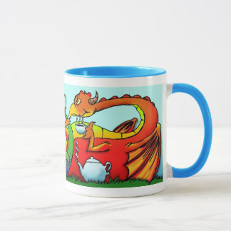 Caneca Tempo do chá do dragão