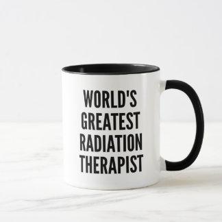 Caneca Terapeuta da radiação dos mundos o grande